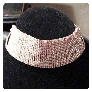 Jewelry - Rhinestone Chocker